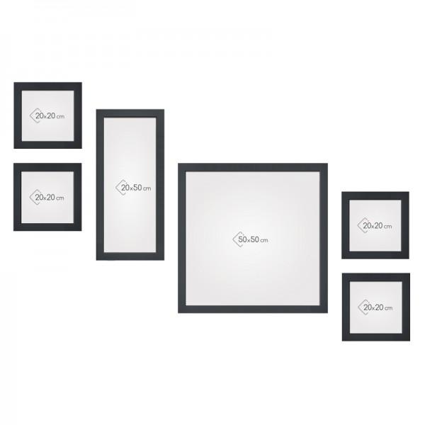mur de cadres cosy gallery escalier 2. Black Bedroom Furniture Sets. Home Design Ideas