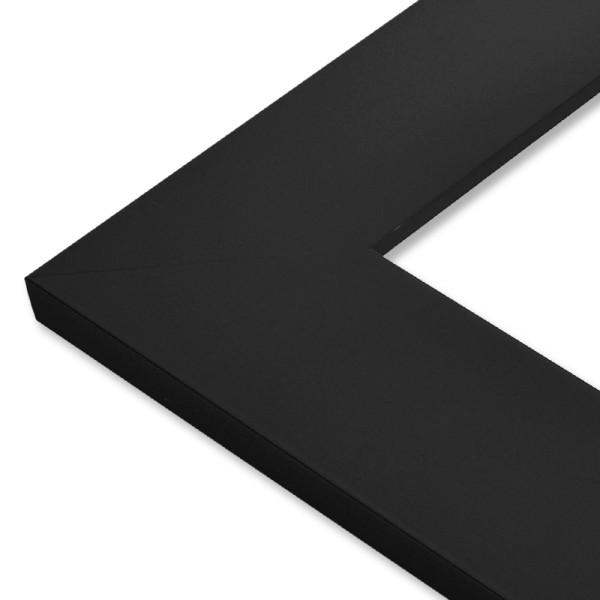 grand cadre noir large. Black Bedroom Furniture Sets. Home Design Ideas