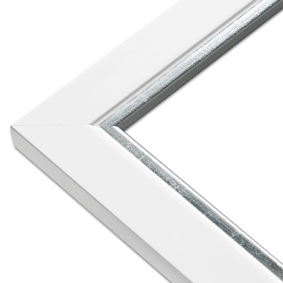 CADRE LINE BLANC Angle bis