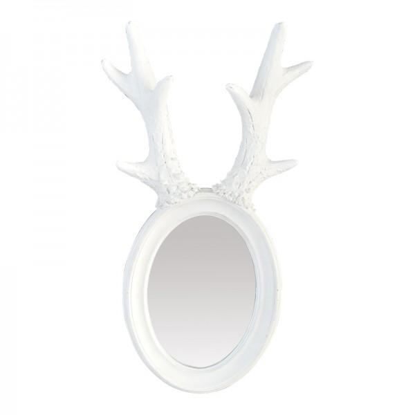 petit miroir d co cerf blanc