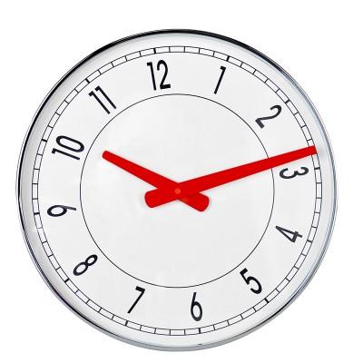 Horloge CHROME DE FACE