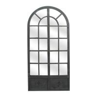 Miroir fenêtre arrondie