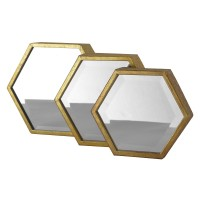 Miroirs hexagones OR