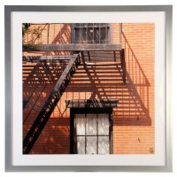 Cadre déco New York - Escaliers