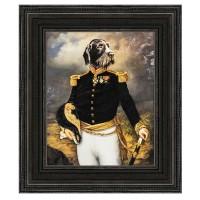 Cadre déco noir COSTUME - Thierry Poncelet