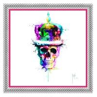 Cadre déco FLASHY Crâne
