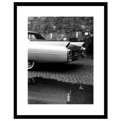 Cadre déco VOITURE 9 - Hollywood car