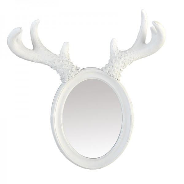 Petit miroir d co elan for Petit miroir blanc