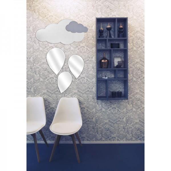 Miroirs d co en forme de gouttes for Miroir convexe deco