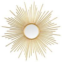 Miroir soleil tiges OR