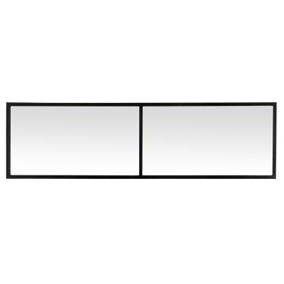 Miroir fenêtre DUO noir