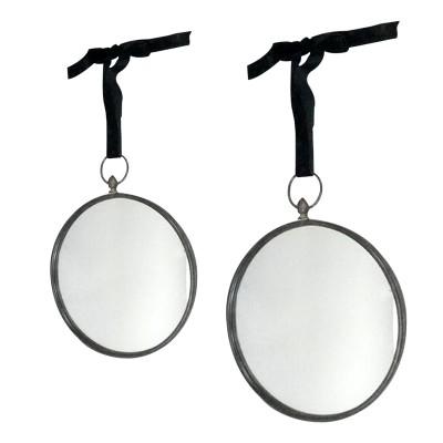 miroir rond noir suspendre. Black Bedroom Furniture Sets. Home Design Ideas