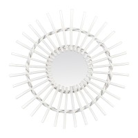 Miroirs d co cosygallery for Miroir rotin blanc