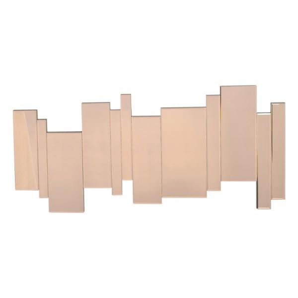 Grand miroir d co rose design dissym trique for Miroirs deco