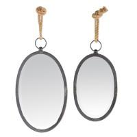 Miroir noir à CORDE