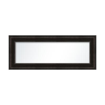 Miroir orn noir plat de plusieurs tailles for Miroir 40x120