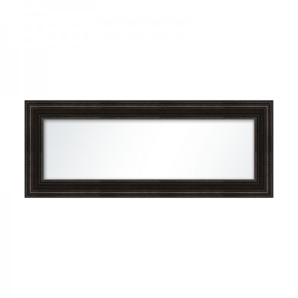 Miroir orn noir plat de plusieurs tailles for Miroir 50x50