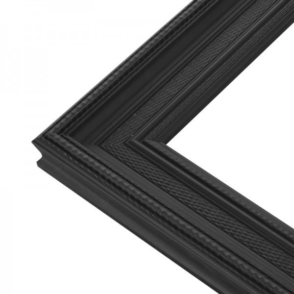 miroir orn noir plat de plusieurs tailles. Black Bedroom Furniture Sets. Home Design Ideas