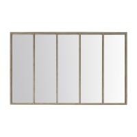 Miroir fenêtre métal 3 - de face