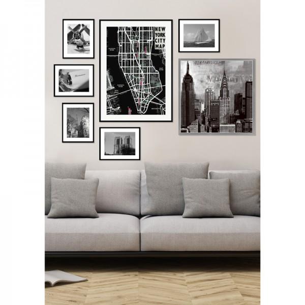 cadre d co avion h lice. Black Bedroom Furniture Sets. Home Design Ideas