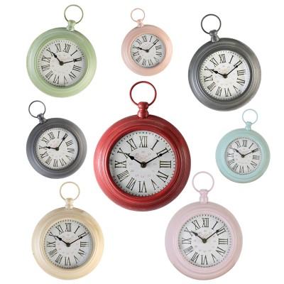 Horloges à anneau, 8 coloris