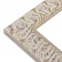 Cadre ivoire orné - Angle