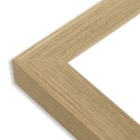 Cadre bois naturel - Angle
