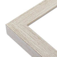 Cadre blanchi beige - Angle