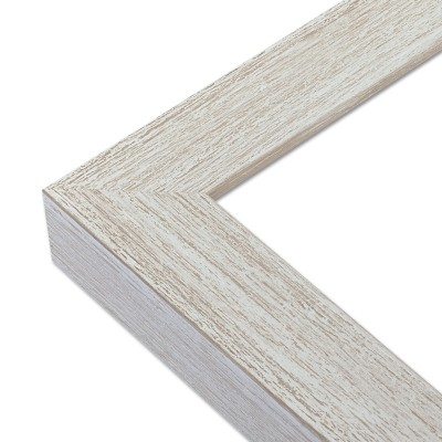 Cadre blanchi gris - Angle