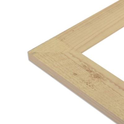Cadre bois brut