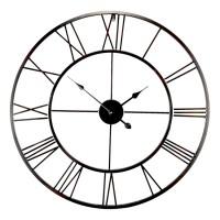 Horloge Métal Noire