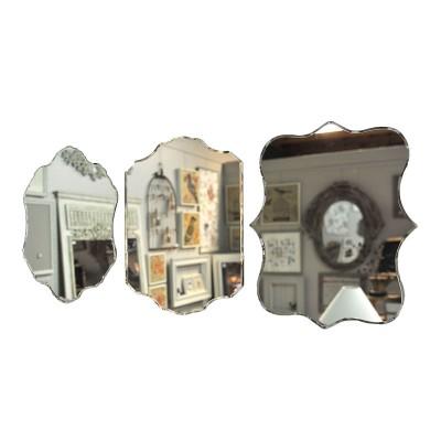 3 Miroirs Vénitiens découpés