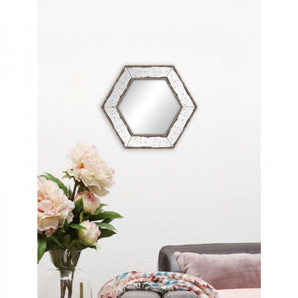miroir v nitien hexagonal. Black Bedroom Furniture Sets. Home Design Ideas
