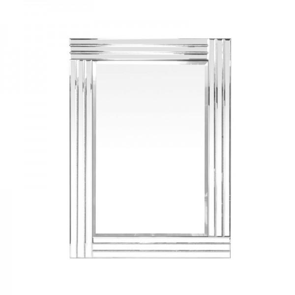 Miroir 3 bandes strass for Miroir 3 bandes