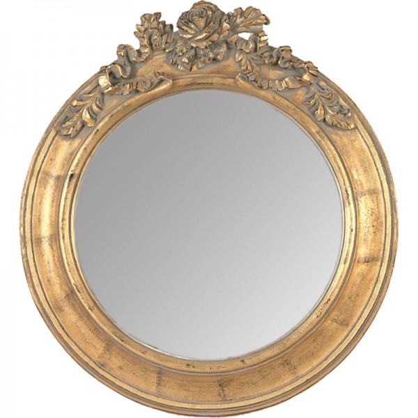 Miroir Doré Roses G