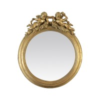 Ancien miroir doré style baroque ou Louis XV