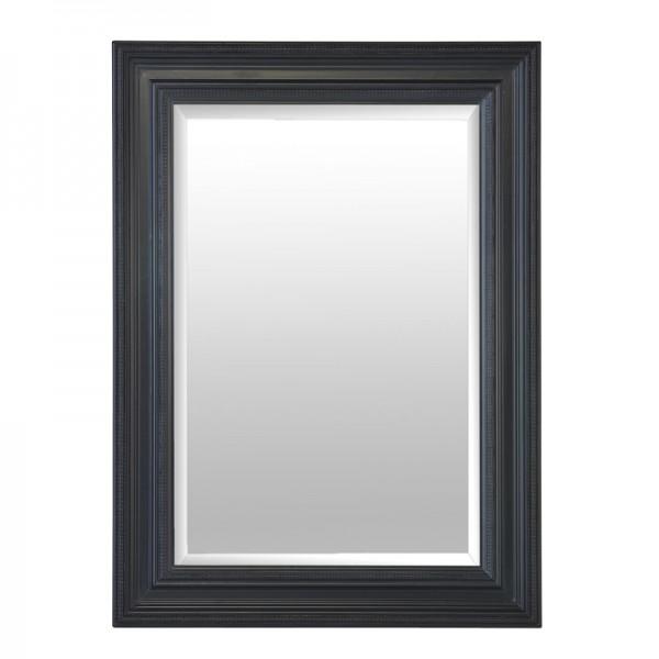 Miroir cadre noir for Miroir rectangulaire noir
