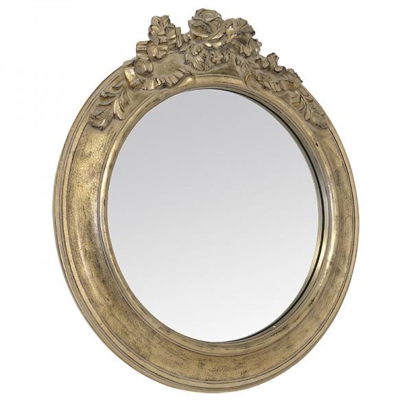 Miroir baroque roses g for Tres grand miroir rond