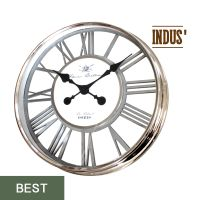 HORLOGE INDUS METAL CHROME AJOURE