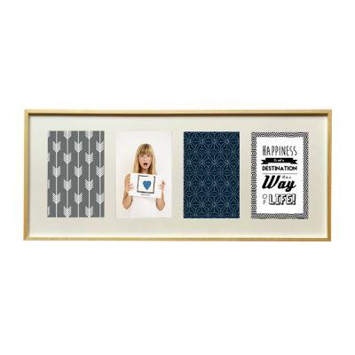 cadre multivues 4 image sou photos noir et blanc et. Black Bedroom Furniture Sets. Home Design Ideas