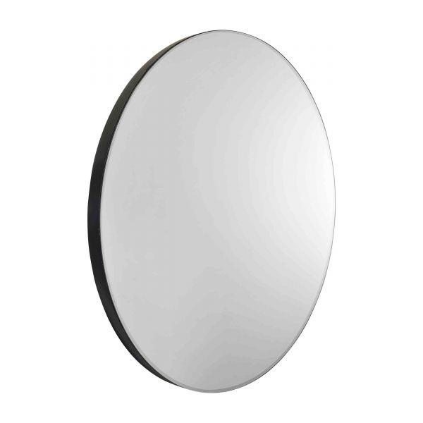 Miroir rond design glace unique ronde pur e 80 cm for Miroir rond 80 cm