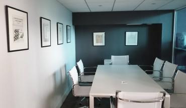 Déco murale sur-mesure pour une agence